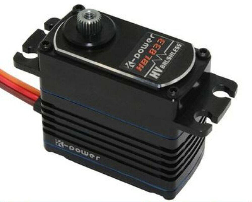 K-energia TTE Servo HV Brushless Digital HBL833 6,0-7,4V  10,6 KG 0,07s TITAN PSR ®  vendita calda
