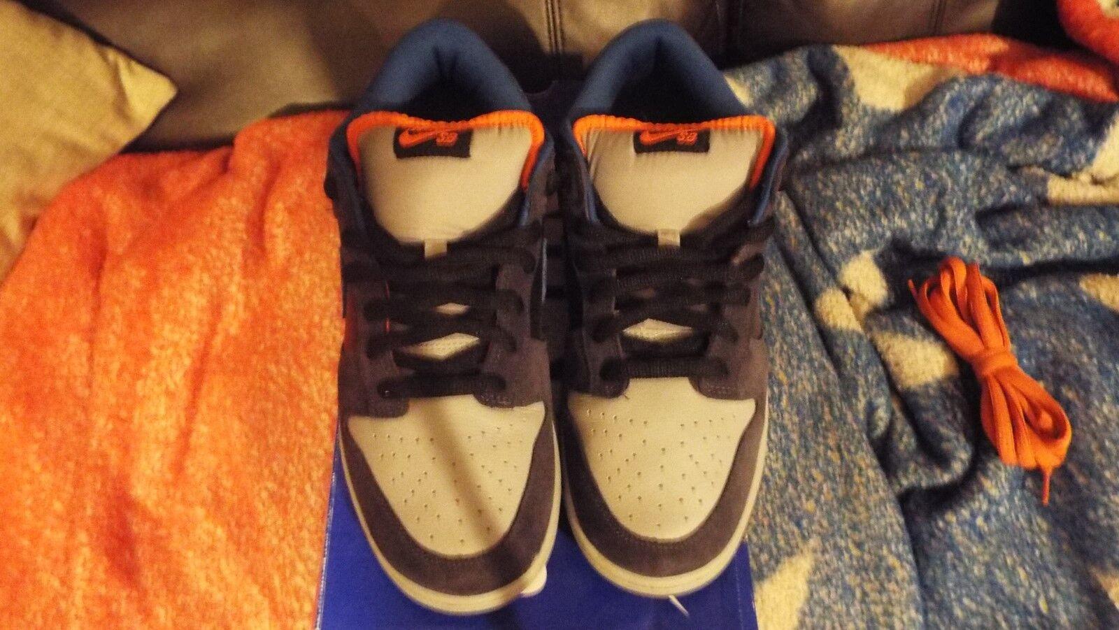 2009 Sz Nike Dunk faible SB Sz 2009 11 PATAGONIA noir ACADEMY Bleu ORANGE 304292-042 fb88b0