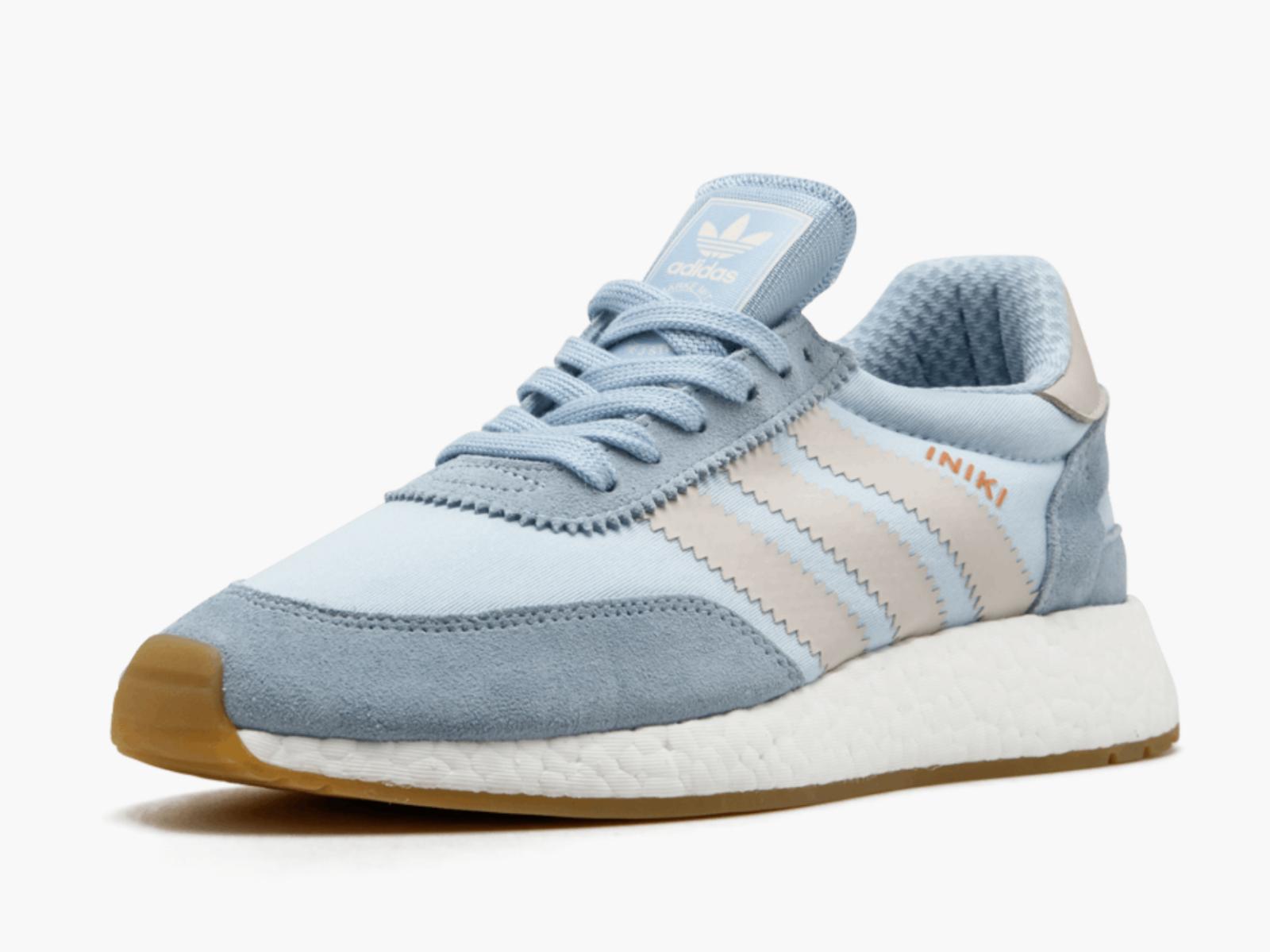 adidas Originals Iniki Runner Boost Mens UK 7 Blau Running schuhe Trainers BB2099