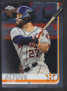 Topps-cromo-2019-Jose-Altuve-20-Houston-Astros