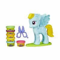 Play-doh My Little Pony Rainbow Dash Style Salon Playset Free Shipping