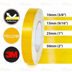 Various sizes Waterproof Reflective PinStripe Roll Vinyl 3M Decal Tape Stickers