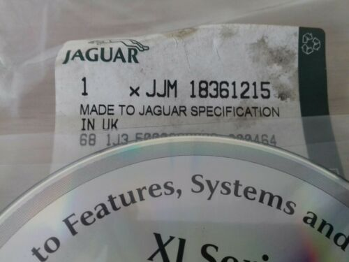 NUOVO Originale Jaguar XJ8 X308 funzioni operative DISCO CD Audio come manuale XJR