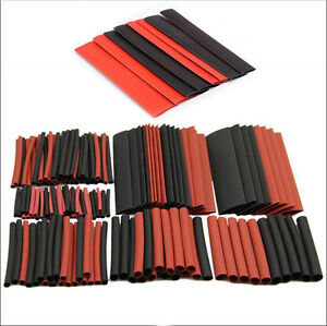150pcs-2-1-Halogen-Free-Heat-Shrink-Tubing-Tube-Sleeving-Wrap-Wire-Kit-Cable-New