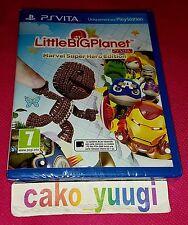 LITTLE BIG PLANET MARVEL SUPER HERO EDITION LITTLEBIGPLANET SONY PS VITA NEUF
