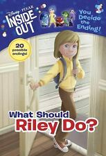 What Should Riley Do? (DisneyPixar Inside Out) (A Stepping Stone Book(TM))