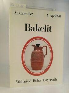 Auktionskatalog-Bakelit-Auktion-162-1986-Boltz-Bayreuth-Hrsg