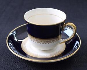 à Condition De Vintage Ambassador Ware England Or Noir Fondeville Ensemble Demitasse Tasse & Les Catalogues Seront EnvoyéS Sur Demande