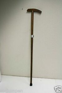 Vintage-Victorian-Style-Handmade-Wooden-Walking-Stick-Cane-Great-Color-amp-Design