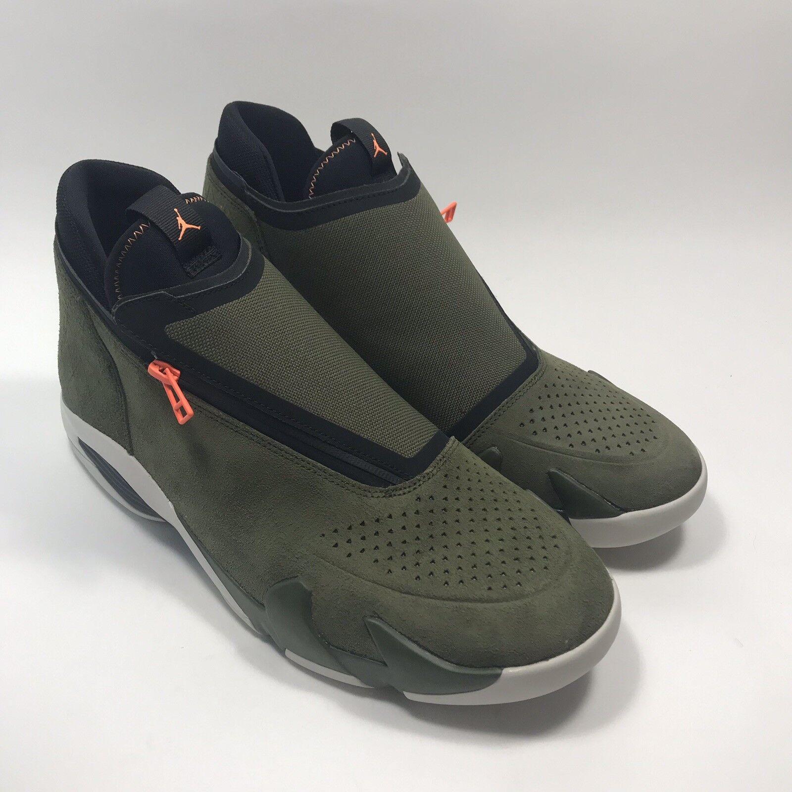 New Jordan Jumpman Z Canvas Cone Basketball shoes Size 11.5 Mens AQ9119-300