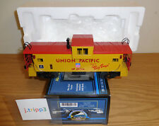 MTH O Gauge 20-80001c Union Pacific 1999 DAP Extended Vision Caboose Illuminated