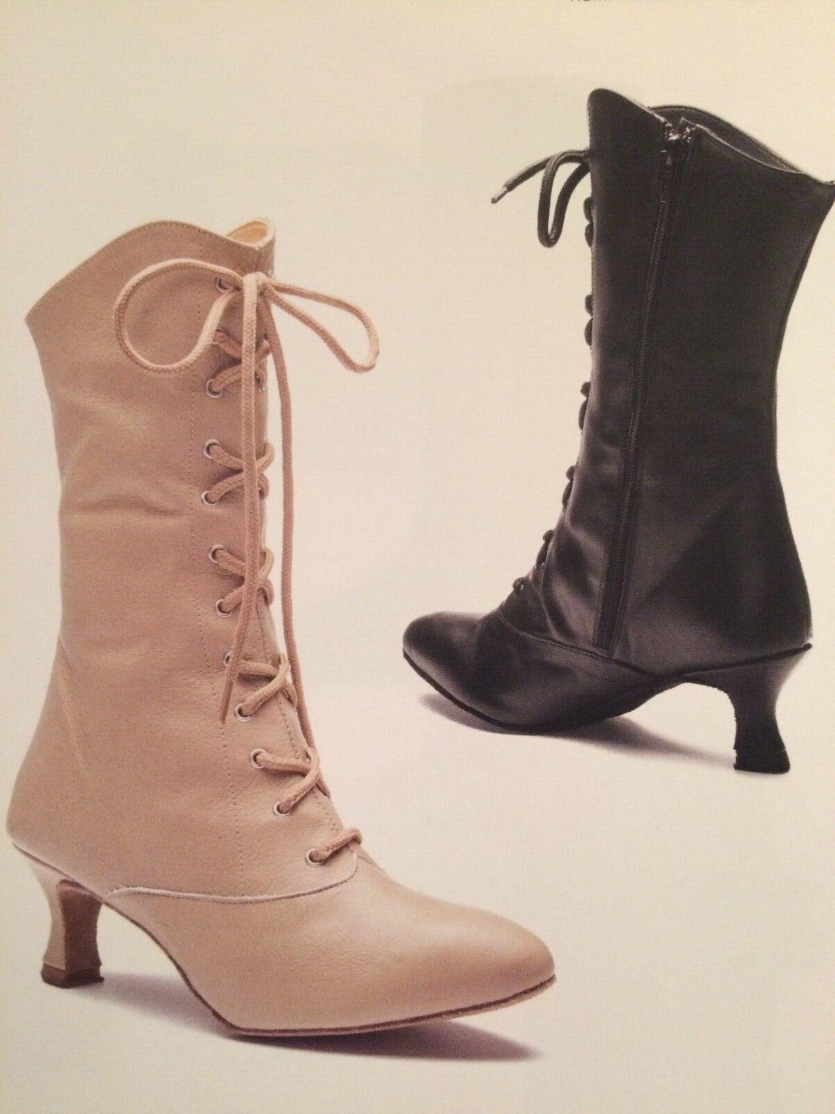 Rumpf Can Can Stiefel 2316 Tanz Tanz Tanz Show Schuh Bühne Stieflette Stiefel Chromledersohle e5f9a1