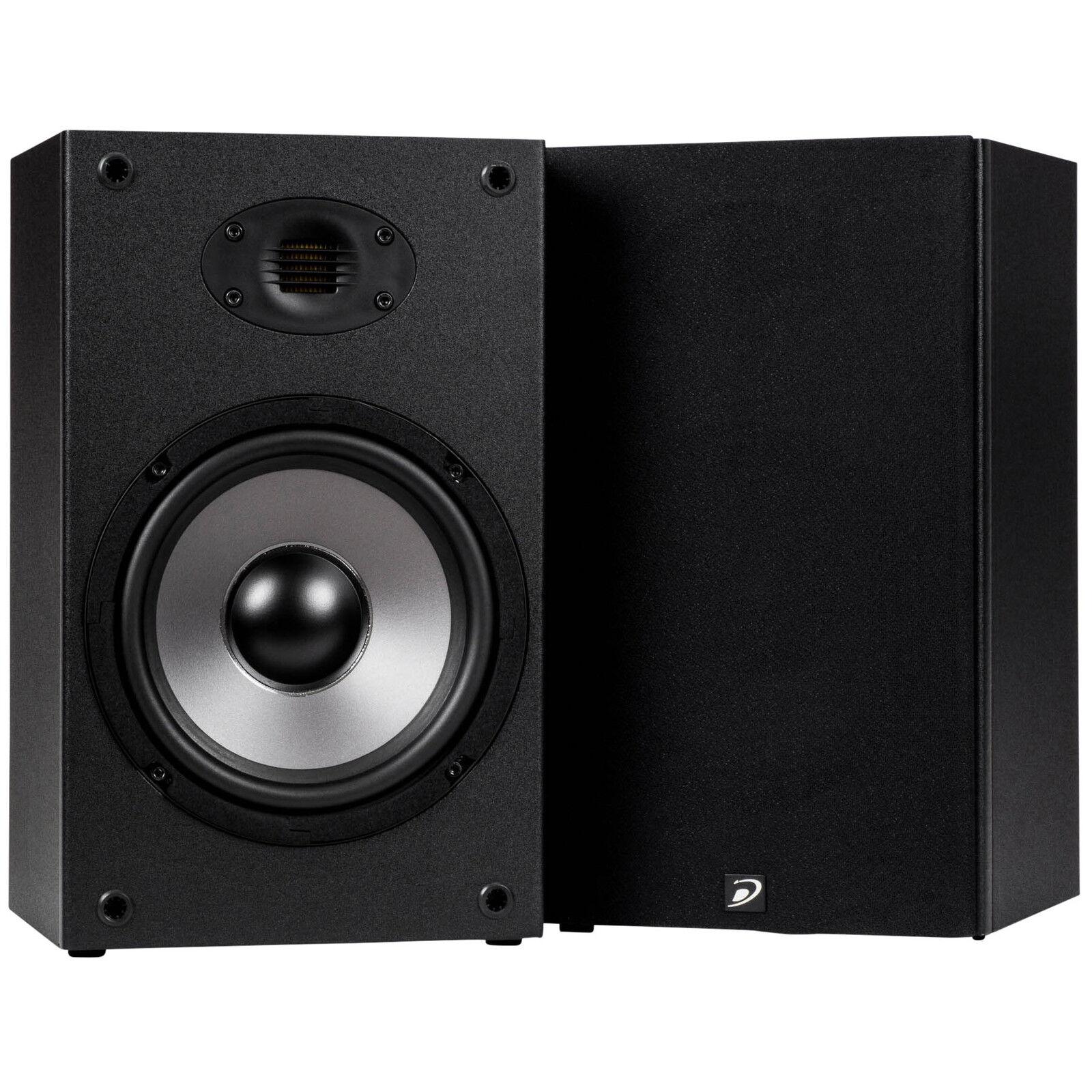 Dayton Audio B652-AIR 6-1 2  Bookshelf Speaker Pair with AMT Tweeter