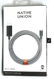 Native-Union-10-039-External-Video-Adapter-USB-C-to-HDMI-cable-Zebra