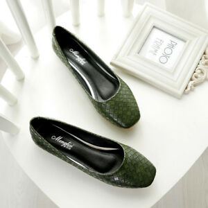 Womens-Slip-Ballet-Flats-Shoes-Casual-Loafers-Moccasin-Driving-Classic-Elastic