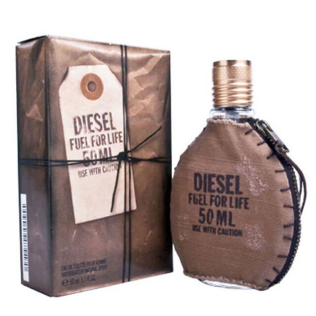 Diesel FUEL FOR LIFE 125ml (4.2 Fl.Oz) Eau De Toilette EDT NEU  CELLO VERSIEGELT