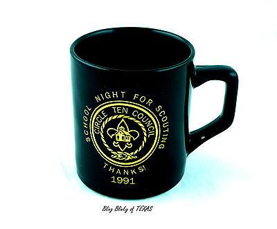 Boy Scouts Circle Ten Council Scouts of America BSA Coffee School 1991 Vintage