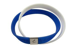berlin souvenir silikonarmband twin blau weiss silikon armband silicon gummi ebay. Black Bedroom Furniture Sets. Home Design Ideas