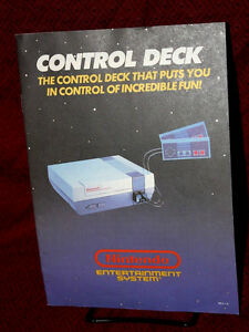 nes control deck instruction manual directions nintendo rh ebay com Sega Genesis Nintendo Wii