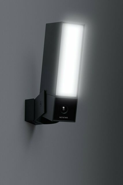 Netatmo presence Aussen Sicherheitskamera WLAN  LED Licht