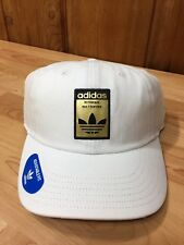00ac107210c item 3 New Men s Adidas Originals Relaxed Base White Black Gold Tre Strapback  Hat OSFM -New Men s Adidas Originals Relaxed Base White Black Gold Tre ...