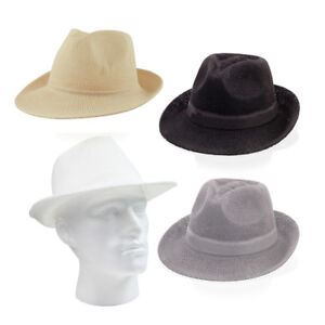 Ladies-amp-Mens-SUMMER-BEACH-HAT-FEDORA-PANAMA-TRILBY-STRAW-STYLE-UNISEX