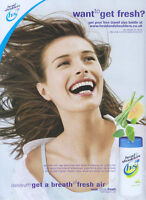 Head & Shoulders Citrus Fresh Shampoo 2003 Magazine Advert #81