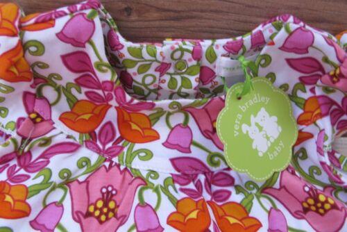 4 of 10 VERA BRADLEY Lilli Bell Baby Bodysuit   Dress size 6-9 months Lot  of 2x 2a6b95091e9ae