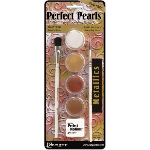 Metallics Ranger Perfect Pearls Embellishment Pigment Kit Powder Kit