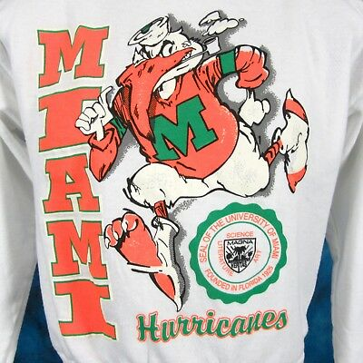 Miami Hurricanes shirt 30 players on shirt 1 of a kind not found in stores UM