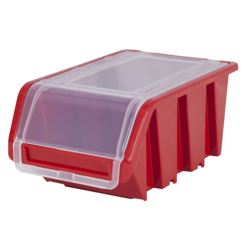 Set Wall Shelf Boxes 8 Stacking Boxes Red