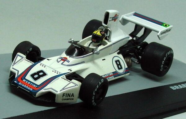 Altaya 1/43 Scala Brabham Bt44b Jose Carlos Pace Gp Brazil 1975 F1 Diecast Auto A Tutti I Costi
