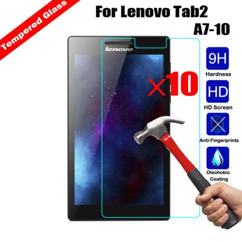Wholesale 10X Tempered Glass Film Cover For Lenovo Tab 4 8//10 Plus Tab E7 Tab E8