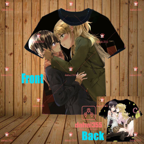 Anime Citrus Casual Cosplay Unisex Crewneck Short Sleeve T-Shirt Tee Tops #C2