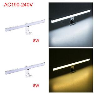 CroLED-8W-Lampe-Applique-Murale-Lumiere-Blanc-Blanc-Chaud-Salle-de-Bain-Miroir