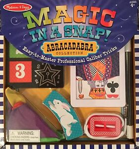Details About Melissa Magic Kits Accessories Doug Magic In A Snap Abracadabra Collection Set