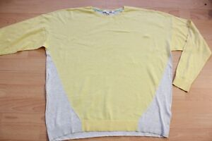 BODEN-easy-lightweight-jumper-size-18-WV081-yellow-grey