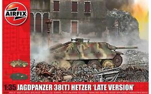 Airfix-A1353-Jagdpanzer-38-Tonne-Hetzer-Dernier-Version-1-3-5-Maquette-Kit-New