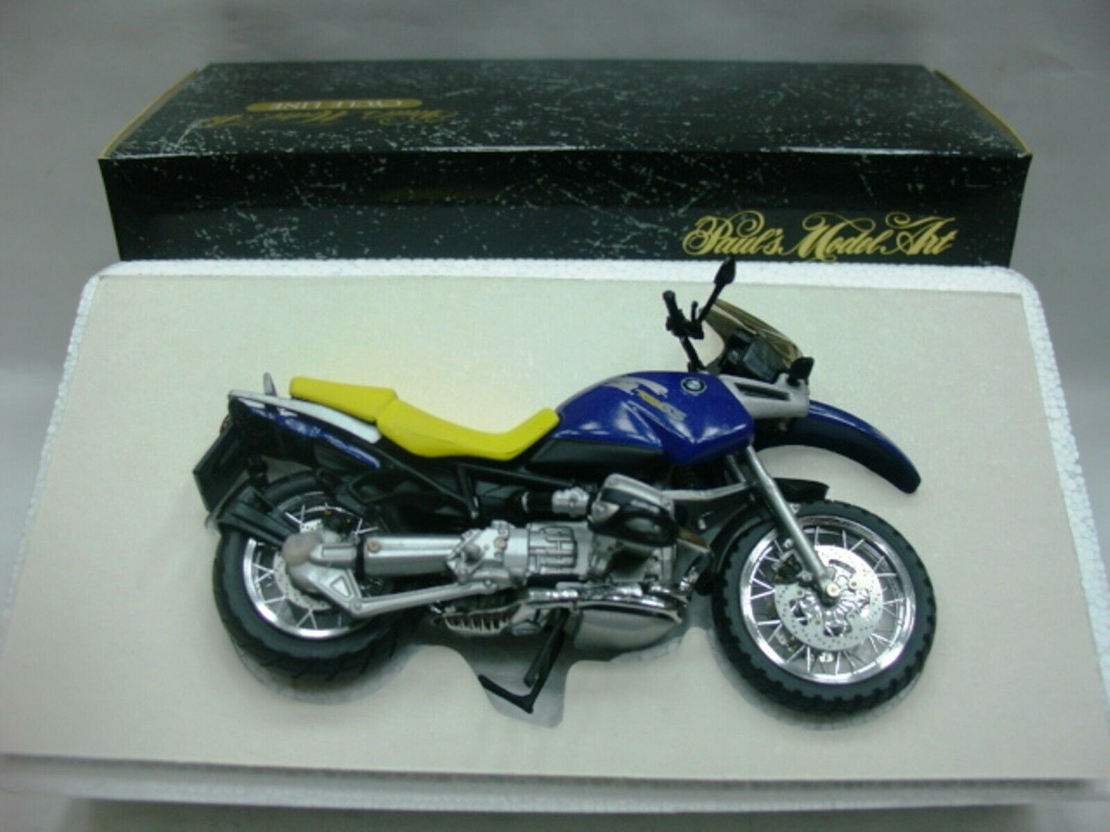 WOW EXTREMELY RARE BMW R 1100 GS Off Road 1994 purple bluee 1 24 Minichamps-R1100