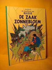 Strips Kuifje De Zaak Zonnebloem Herge 1997 Soft cover