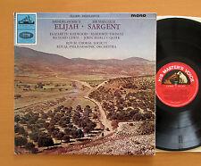 ALP 2077 Mendelssohn Elijah Harwood Shirley-Quirk Sargent 1965 Mono EX + insert