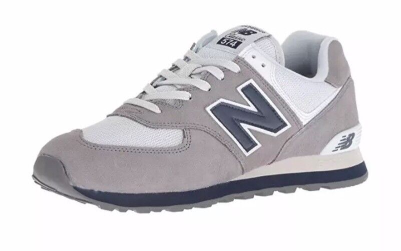 competitive price d9ff6 7e760 New Balance 574 Core Plus Men's Size 10 Shoes Gray Gunmetal Navy ML574ESD  NEW!