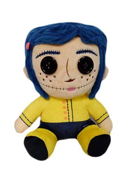 Button Eyes Sitting 8 Phunny Soft Doll Kr15504 Plush Coraline