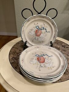 """5 International China """"Marmalade"""" Dinner Plate, 11 Inches, Tableworks"""