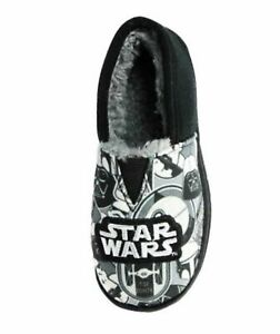 Star Wars Boys Slippers in Black and