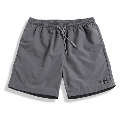 Men Summer Beach Casual Shorts Sports Running Swimwear Beachwear Short Pants
