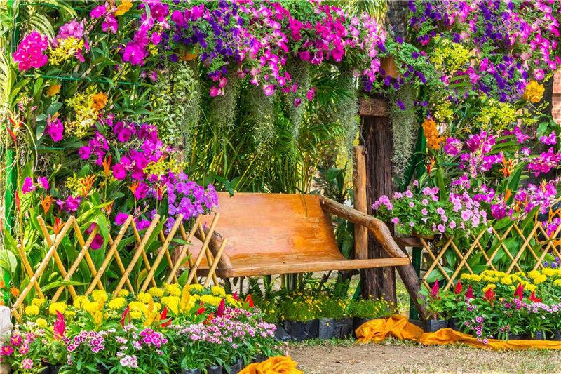 3D Garten Park bluemen 9443 Tapete Wandgemälde Tapeten Bild Familie DE Lemon