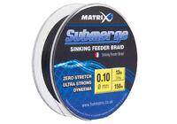 Matrix Submerge Sinking Feeder Dynema Braid - All Sizes