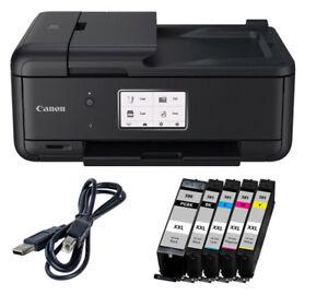 Canon-Pixma-TR8550-Multifunktionsgeraet-Farbtintenstrahl-All-in-One-5-XXL-TINTE