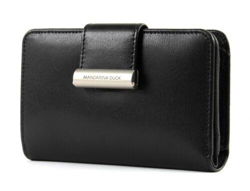 MANDARINA DUCK Hera 3.0 Small Wallet Geldbörse Black Schwarz Neu